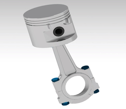 Engine Piston Assembly