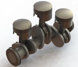 Crank shaft, Piston & Connecting Rod