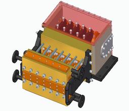 Hexaplex High pressure plunger pump